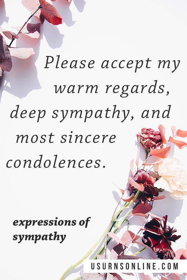 Warm Regards - Condolence Quotes