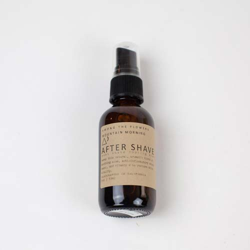 Aftershave made from essential oils