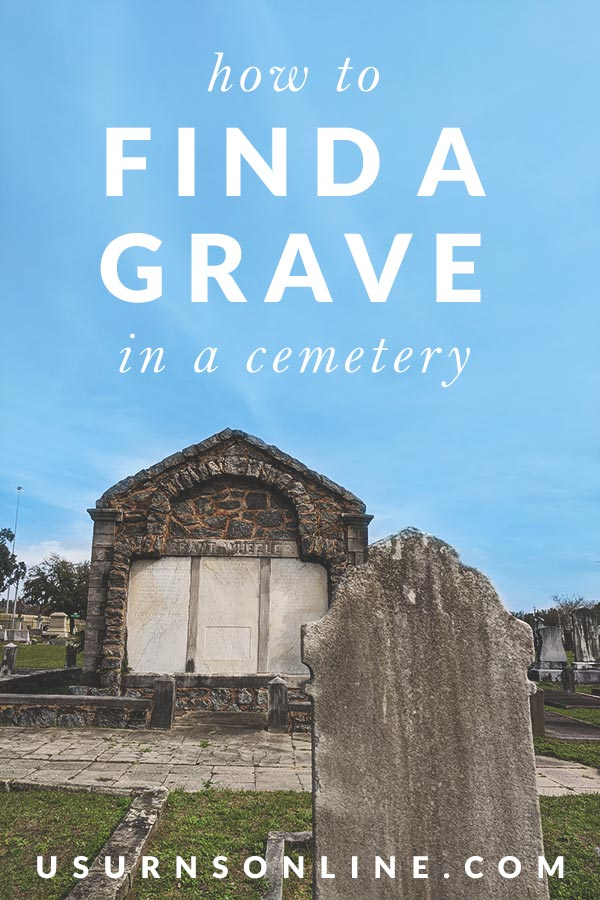 Tips for Finding a Grave or Headstone