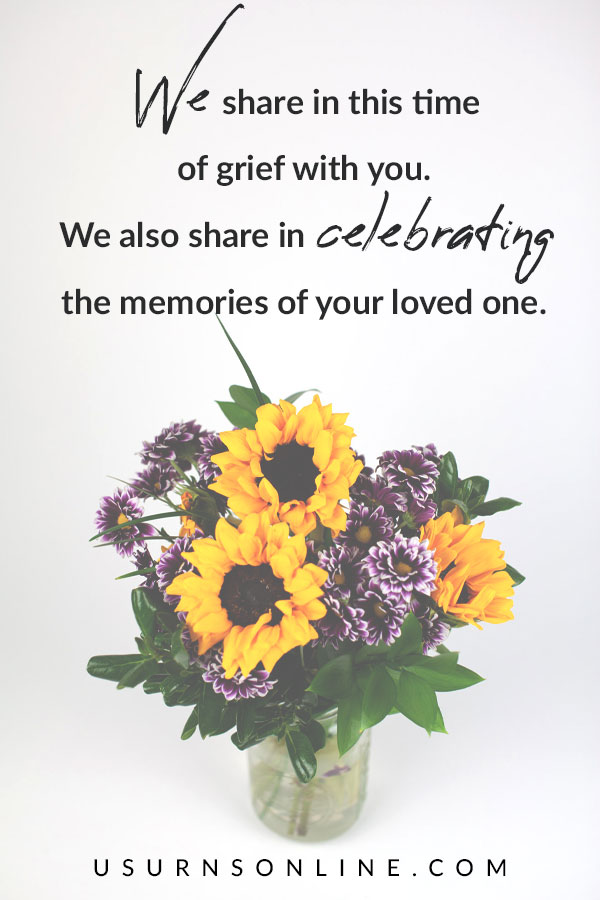 Sharing in Grief - Sympathy Quotes