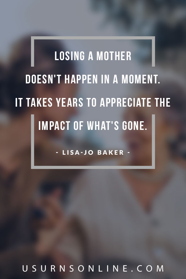 Sympathy Quote Images - Loss of Mother