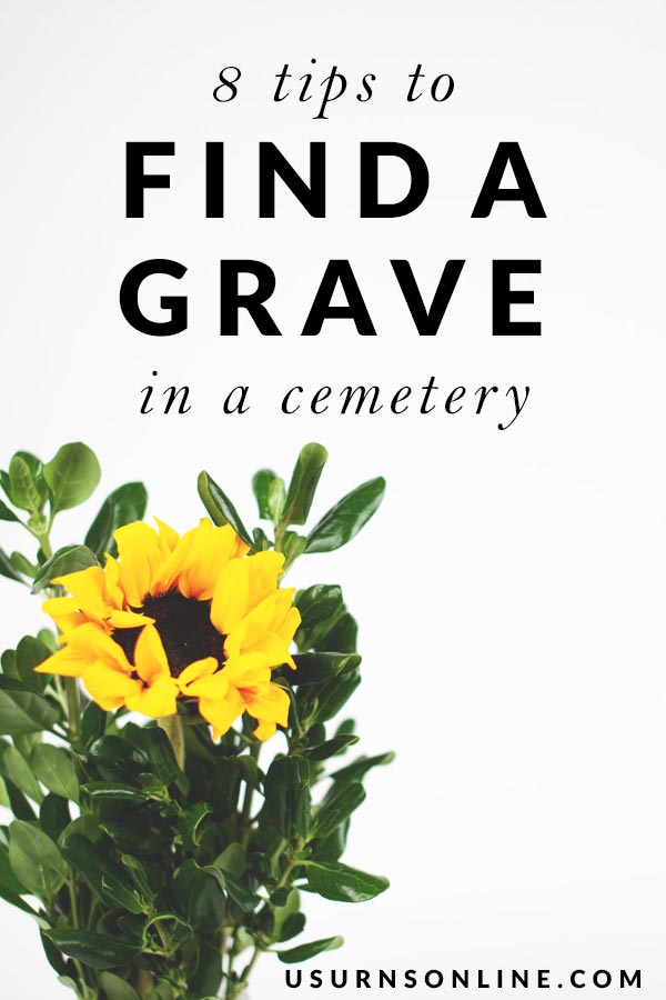 Tips to Help You Find a Cemetery Grave