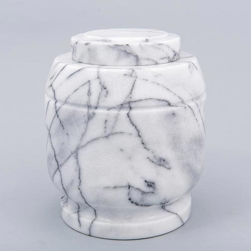 Cremation Urns for Burial - White