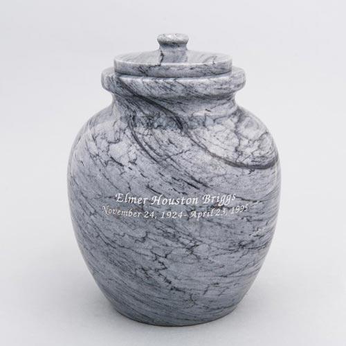 Round Urn Vault - Marble