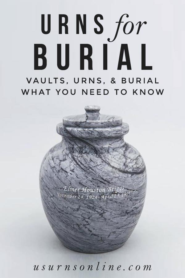Urns for Burial - What You Need to Know