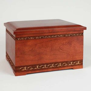 Urn Gallery - Cherry Wood Urn