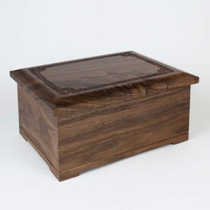 Urn Gallery - Walnut Wood Urn