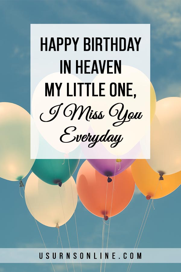 Birthday Wishes for Child in Heaven