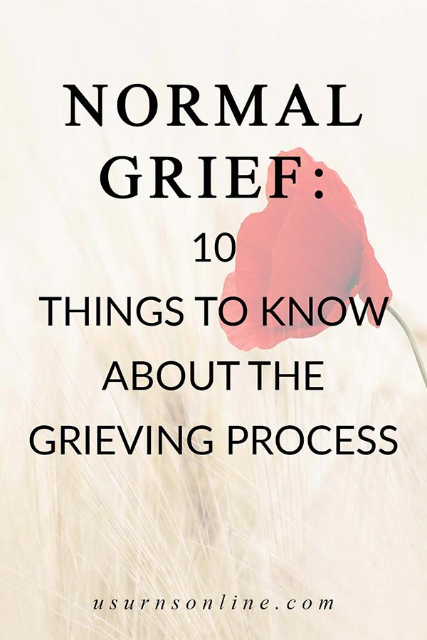 Grieving Process of Normal Grief