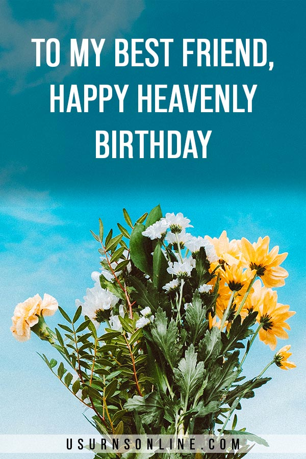 Flowers and Birthday Wishes for Those in Heaven