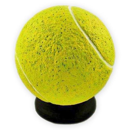 Resin tennis ball urn