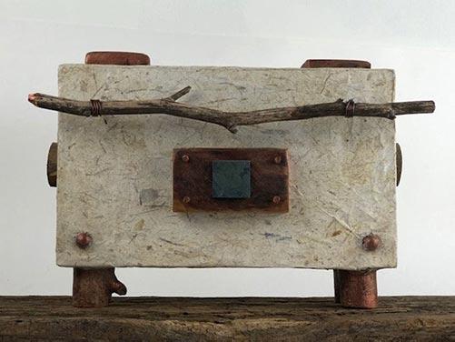 All natural handmade cremation urn