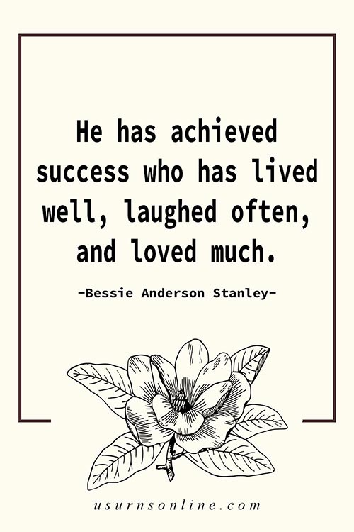 Grief Quote by Bessie Anderson Stanley