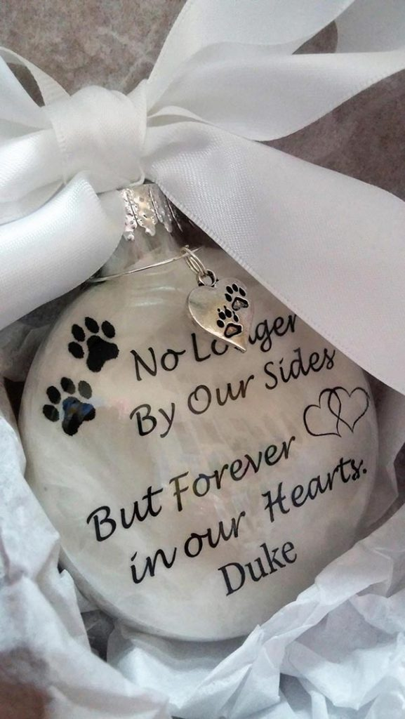 Memorial Ornament for Pet