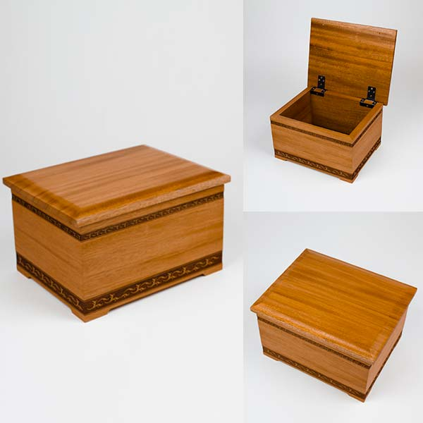 Keepsake Chest Cremation Urn