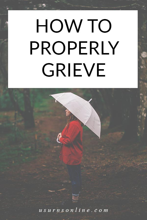 Mourning a Death: How to Grieve Well