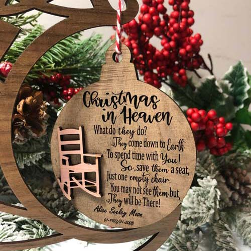 Personalized Christmas Ornaments for Loved Ones