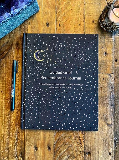 Night Sky Grief Journal