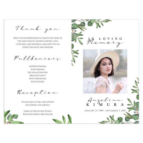Funeral Programs & Template Designs