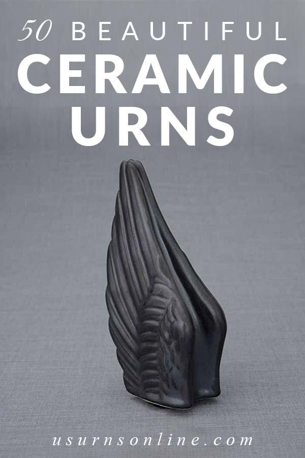 Gorgeous Ceramic Memorial Urns