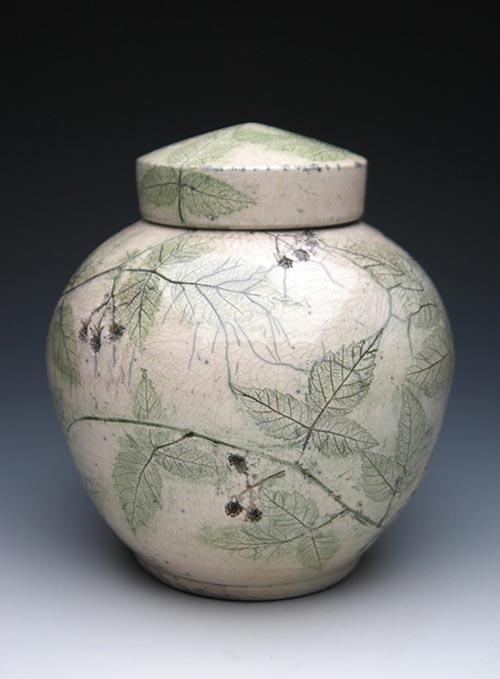 Blackberry Raku- 50 Beautiful Ceramic Urns