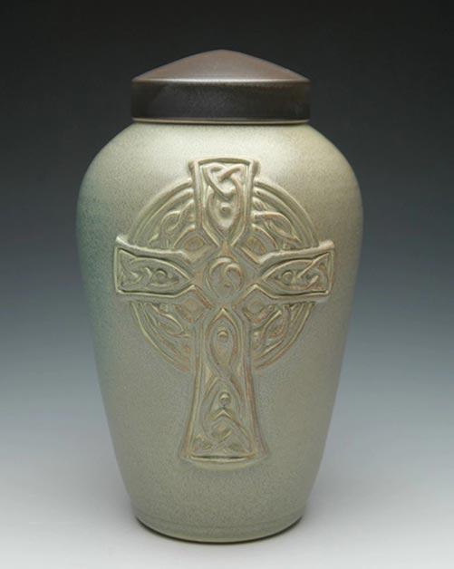 Celtic Cross- 50 Beautiful Ceramic Urns