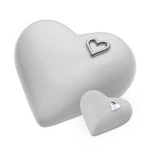 Heart Ceramic Urn- 50 Beautiful Ceramic Urns