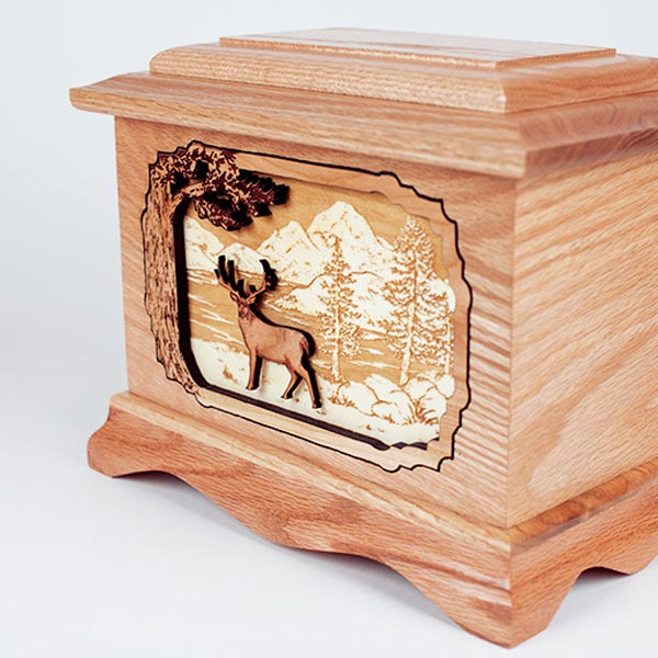 Deer Hunter Cremation Urn