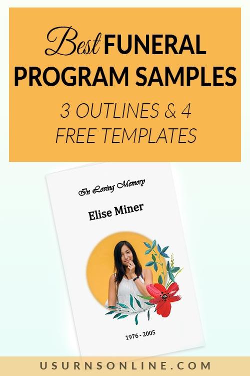 Free Funeral Program Samples