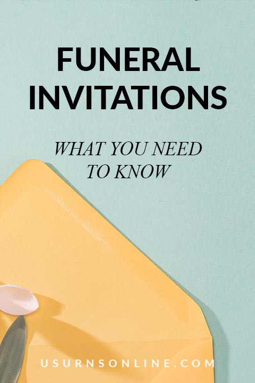 Facts of Funeral Invitations