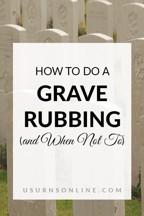 Grave Rubbing