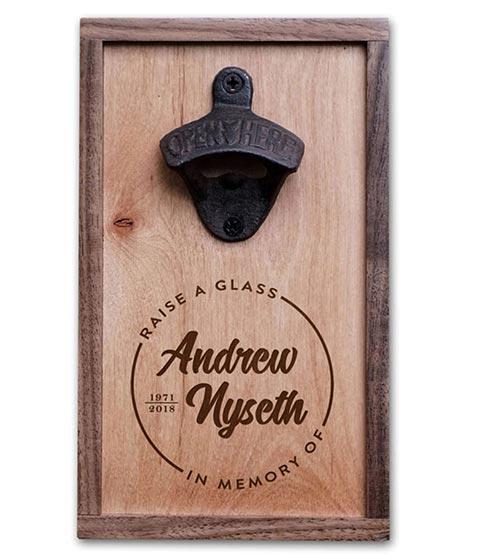 In Memory of- Bottle Opener