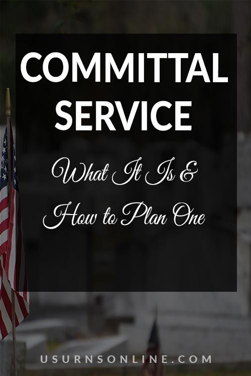 How to Plan a Committal Service