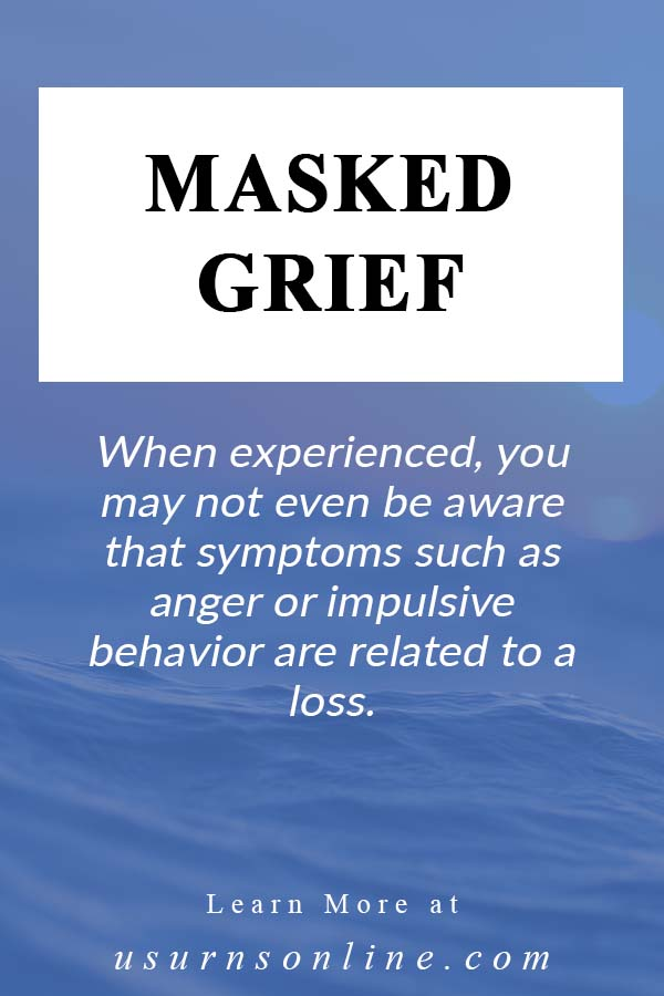 What is Masked Grief