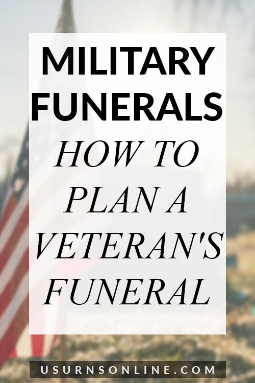 How to Plan a Veteran's Funeral