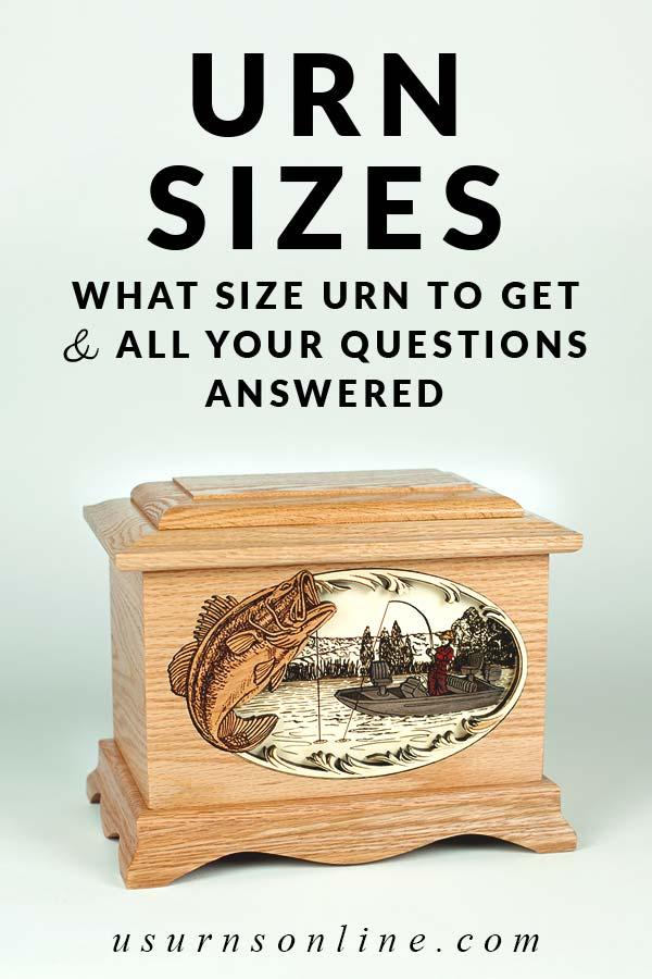 What is the standard size urn?