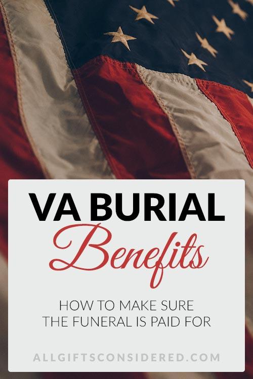 VA Burial Benefits
