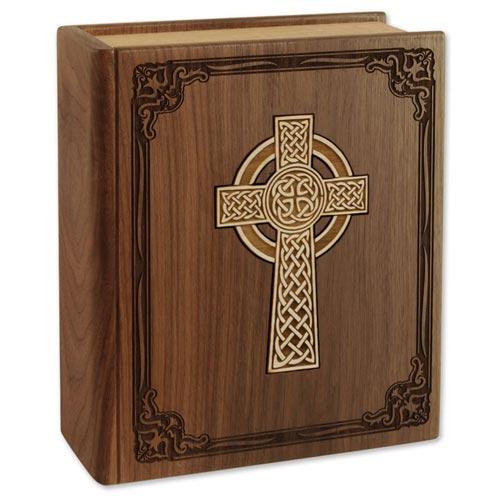 Celtic Cross Bible Urn