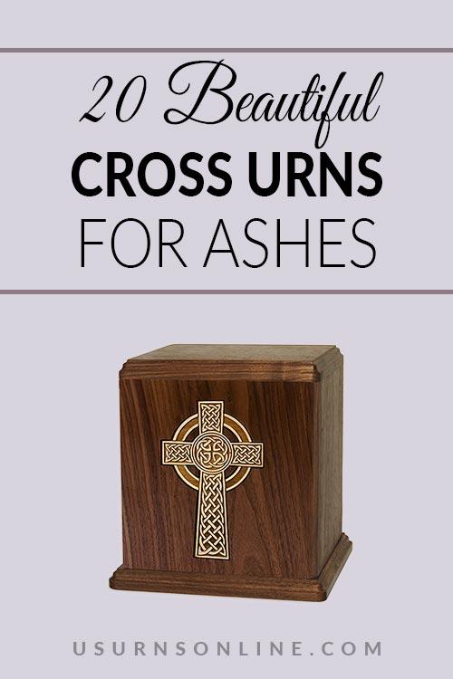 Beautiful Cross Urns