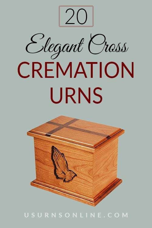 Elegant Cross Cremation Urns