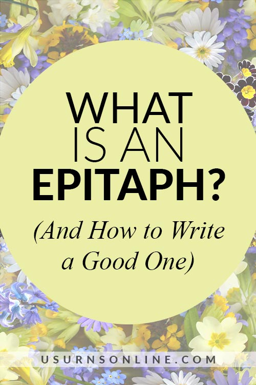Do's and Don'ts of Epitaphs