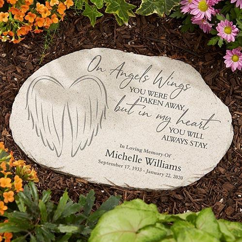 Garden Stones: On Angels Wings