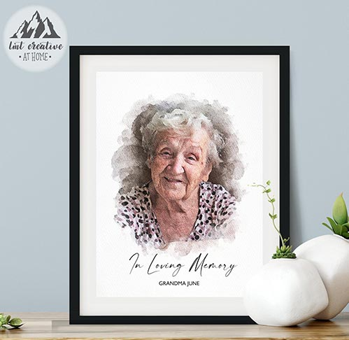 Thoughtful Memorial Portraits