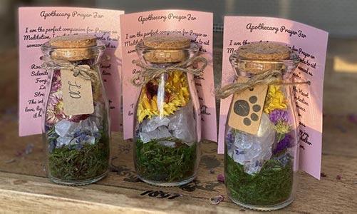 Prayer Memorial Jars