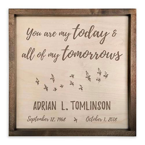You Are My Today and All My Tomorrows