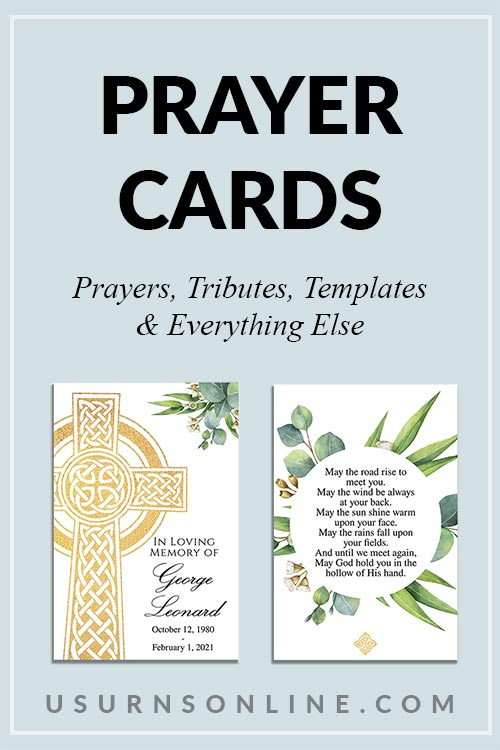Elegant Prayer Card Templates