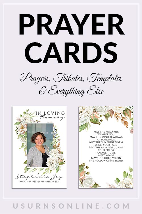 Best Prayer Card Templates