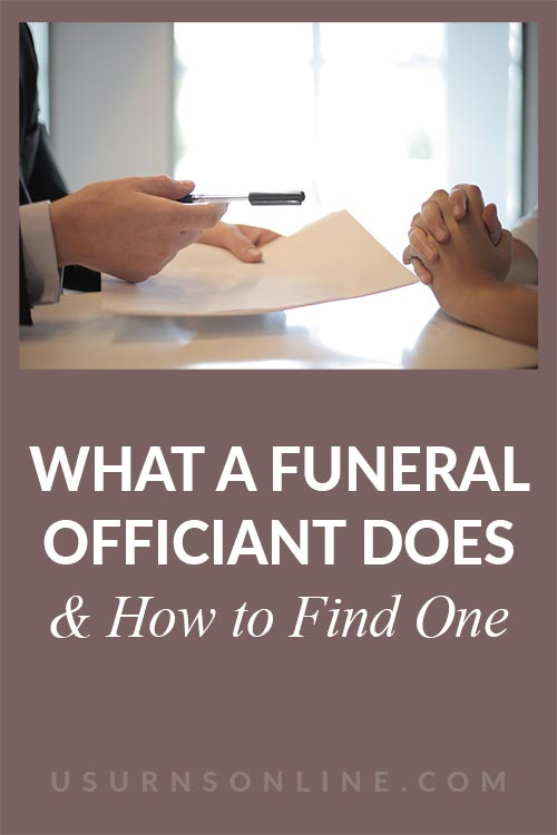 How to Find a Funeral Officiant
