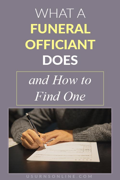 What is a Funeral Officiant