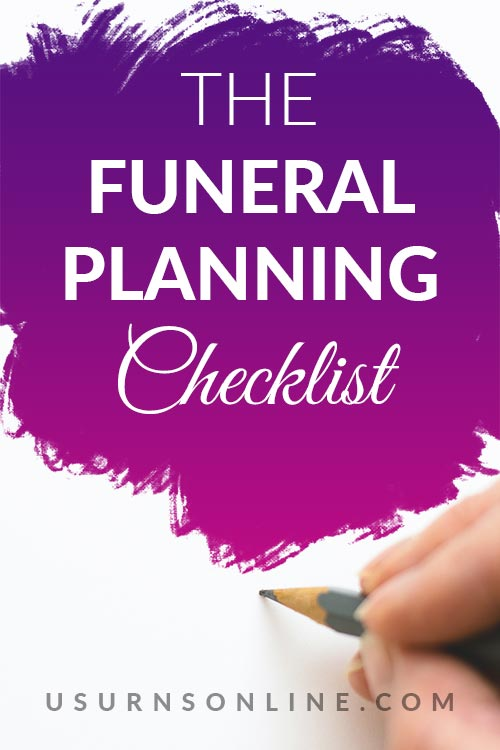 The Best Checklist for Funerals